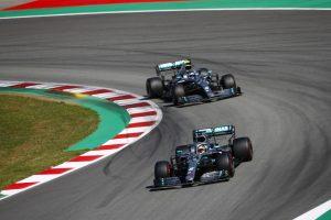 Bottas, Hamilton, Mercedes