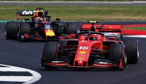 Leclerc, Verstappen