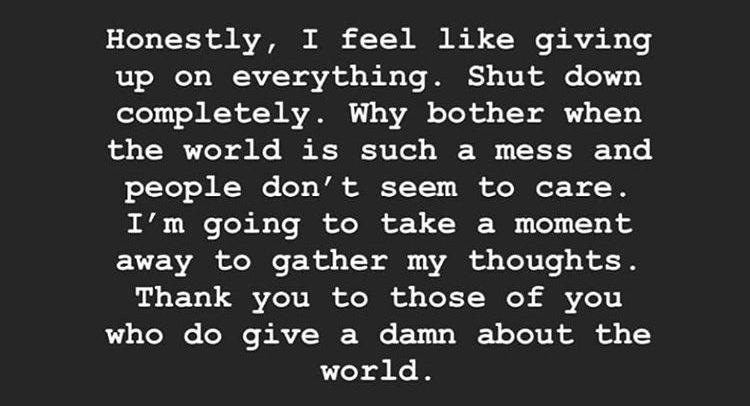 Lewis Hamilton, Instagram