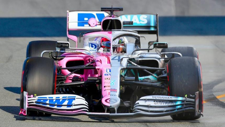 Racing Point vs Mercedes