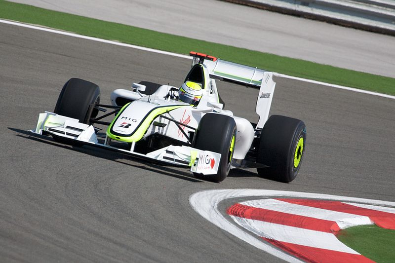 Jenson Button, Brawn GP. Mark McArdle