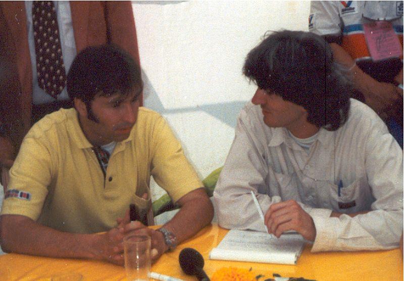 Frentzen und Iserhardt, Paddock1990