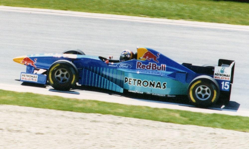 Sauber C15, Francois Pier.